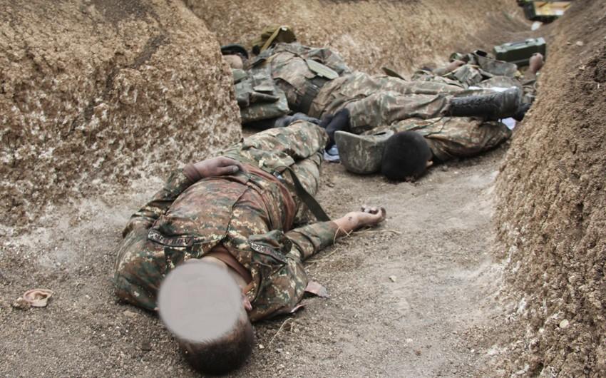 Кадры уничтоженных вражеских солдат