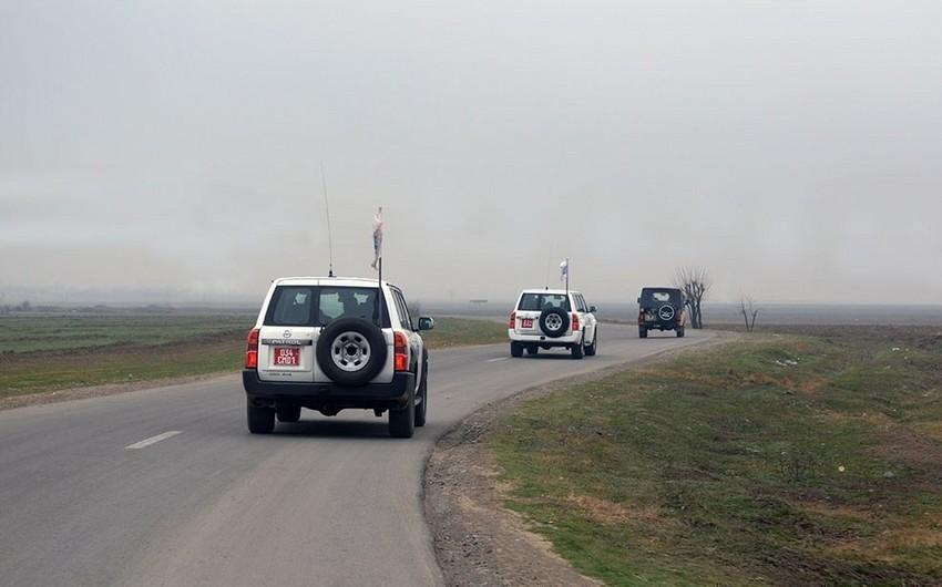 OSCE to hold monitoring exercise on contact line of Azerbaijani and Armenian armed forces