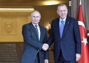 Путин и Эрдоган обсудили ситуацию в Карабахе
