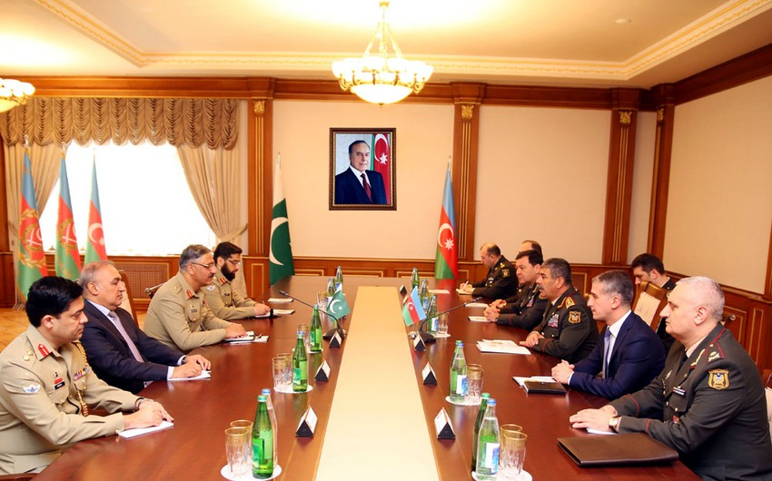 Azerbaijan and Pakistan will expand military cooperation