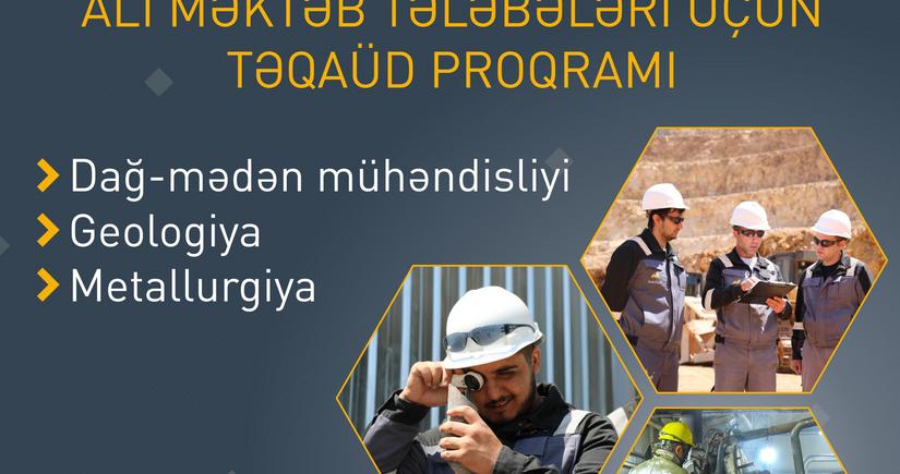 """""""AzerGold"""" ali məktəb tələbələri üçün Təqaüd proqramı elan edib"""