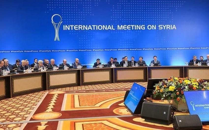 Rusiya, İran və Türkiyə Nur-Sultanda Suriya üzrə məsləhətləşmələr aparır