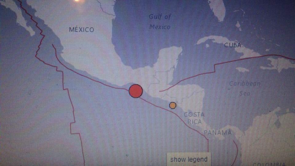 Earthquake measuring 8.1 strikes off coast of Mexico