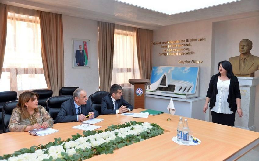 """Bakı məktəblərində """"Ən yaxşı təqdimat"""" müsabiqəsinə start verilib"""
