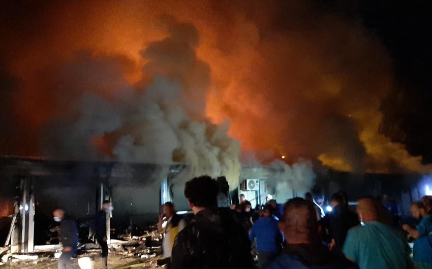 Şimali Makedoniyada COVID xəstəxanasında yanğın olub, 30 nəfər ölüb
