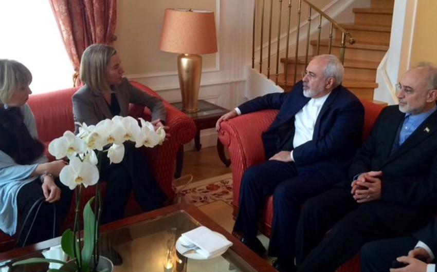 Federika Mogerini İran XİN başçısı ilə görüşüb