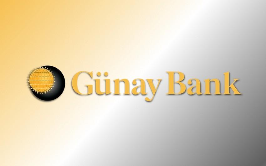 """""""Günay Bank""""ın mənfəəti 69% azalıb"""