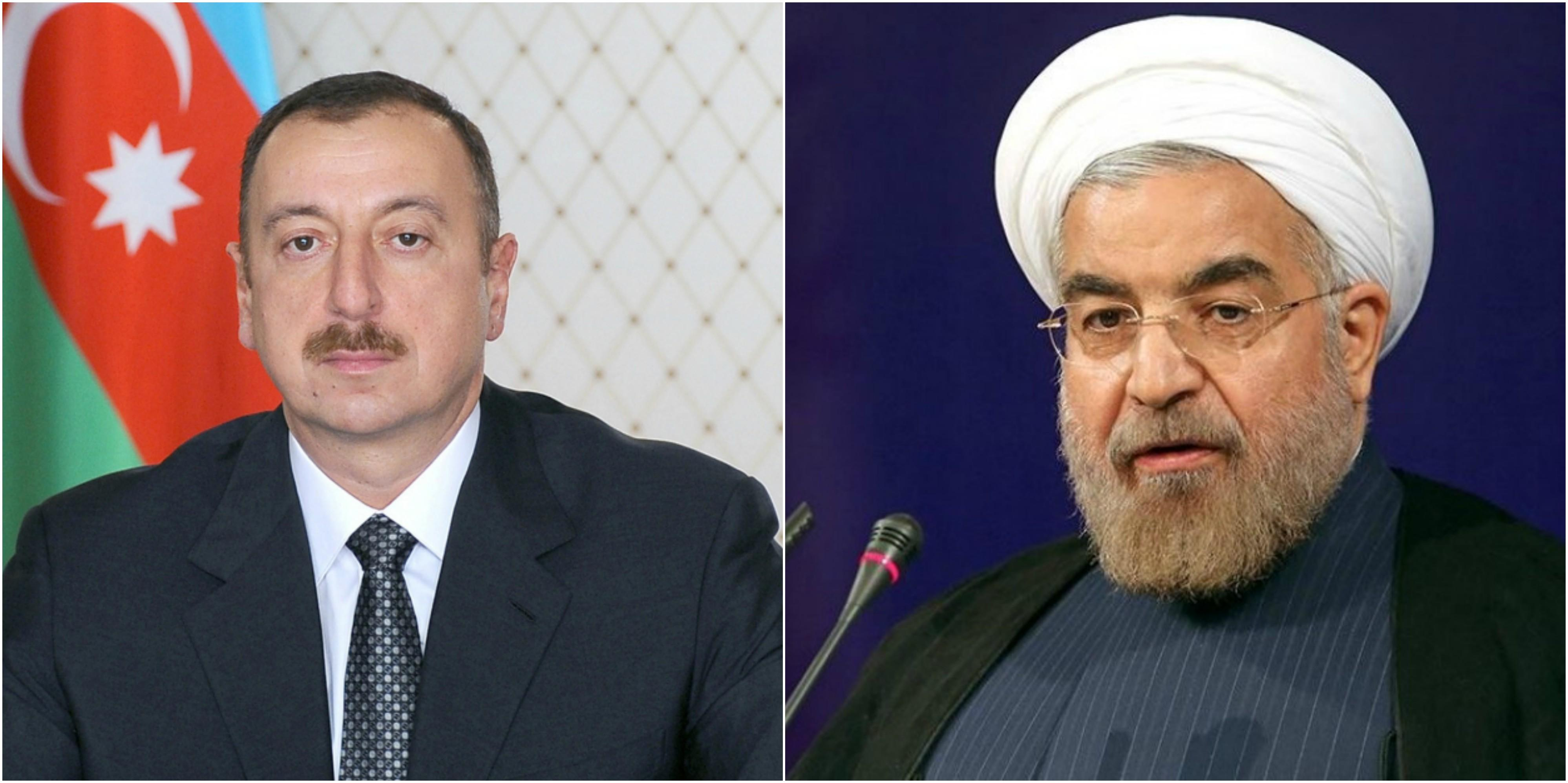 President Ilham Aliyev offers his condolences to Hassan Rouhani