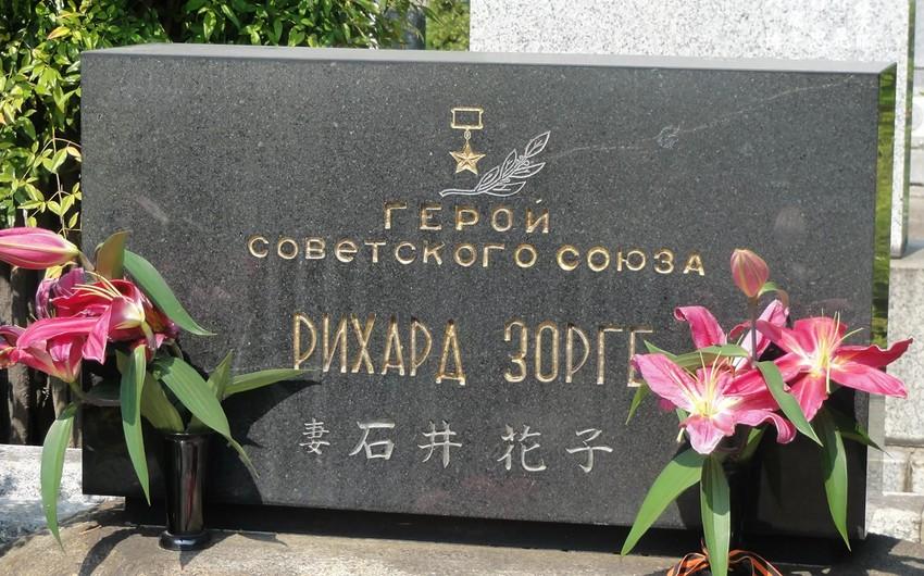 Rixard Zorgenin Yaponiyada məzarı ziyarət edilib