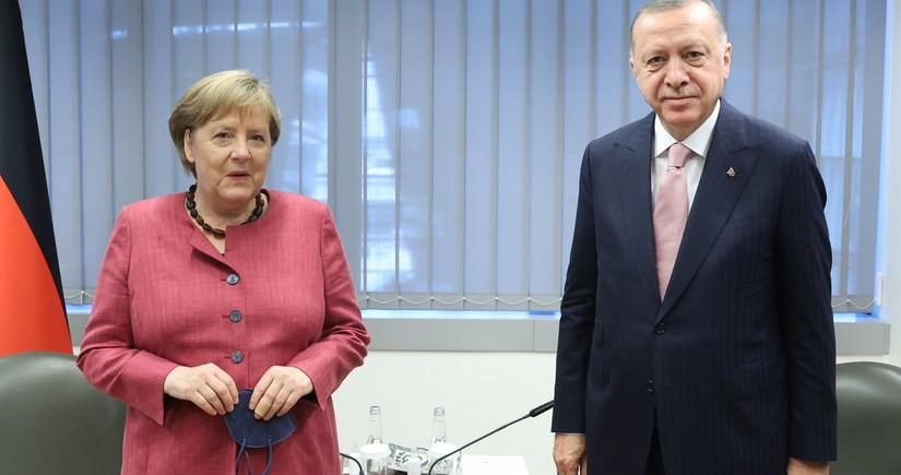 Эрдоган встретился с канцлером Германии