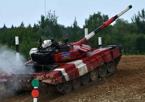 Azərbaycan tankçıları müsabiqədə yarımfinala yüksəldi