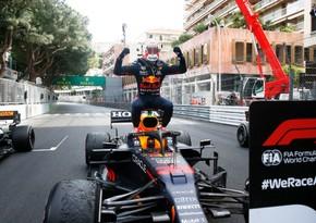 Ферстаппен выиграл Гран-при Монако Формулы-1
