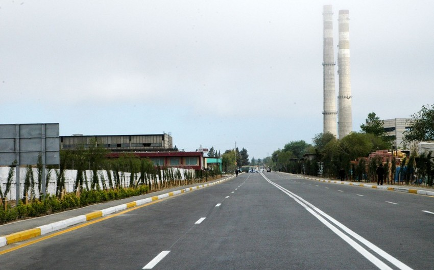 В этом году в Азербайджане обновлено около 700 км дорог