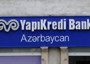 """""""Yapı Kredi Bank Azərbaycan""""ın xalis mənfəəti 3 dəfə azalıb"""