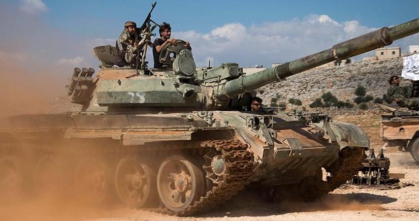 Suriyanın İdlib əyalətində terrorçular hərbçilərə hücum edib, ölənlər var
