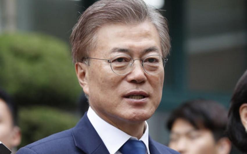 Президент Южной Кореи выразил желание провести чемпионат мира по футболу совместно с КНДР