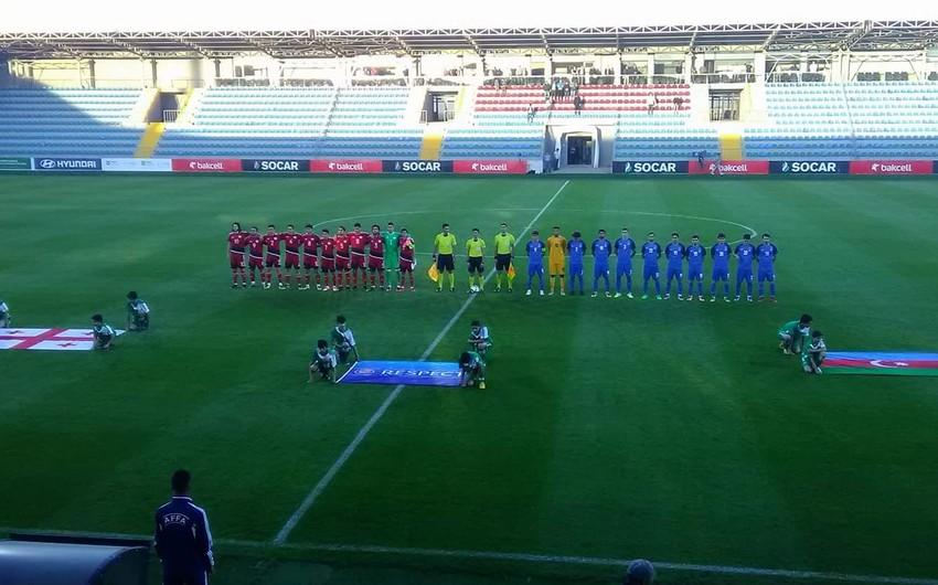 Сборная Азербайджана (U-20) проиграла Грузии