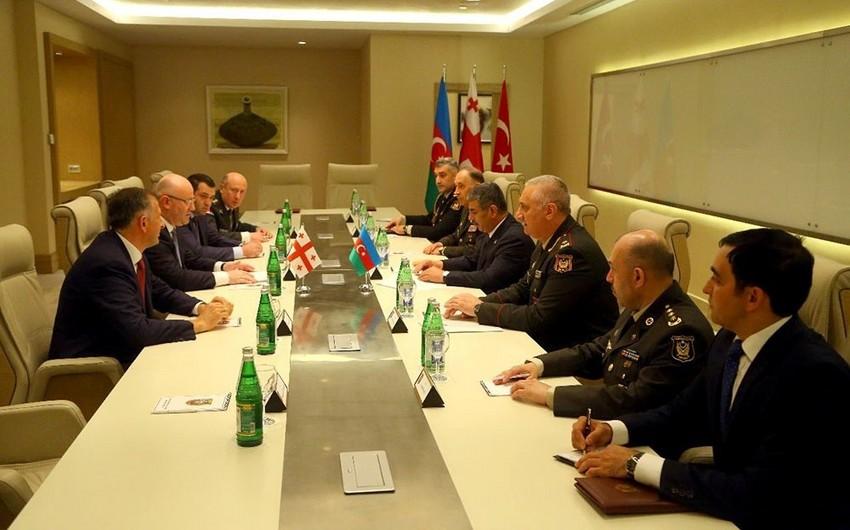 Defense Ministries of Azerbaijan and Georgia sign plan of bilateral cooperation