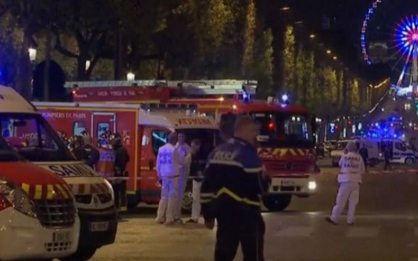 Parisdə atışma nəticəsində ölən polislərin sayı 2-yə çatıb, 3 metrostansiya bağlanıb - VİDEO - YENİLƏNİB