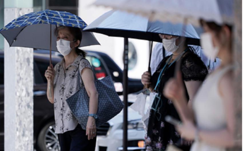 Tokioda avqust ayında 79 nəfər istidən öldü