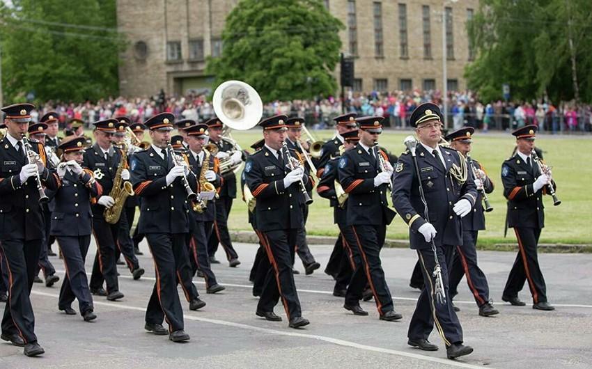 Estoniya ordusu hərbi orkestri ləğv edir