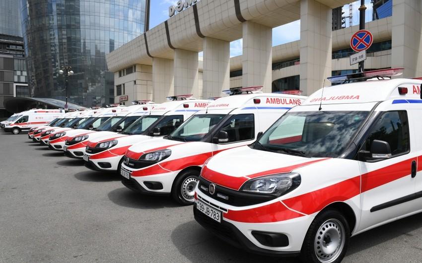 По поручению президента в Азербайджан доставлены новые автомобили скорой медпомощи