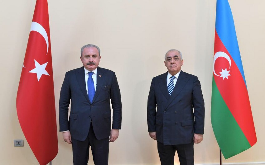 Ali Asadov meets with Turkish Parliament Speaker