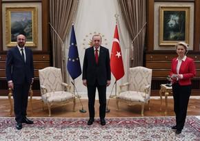 Главе Еврокомиссии не досталось места во время встречи с Эрдоганом