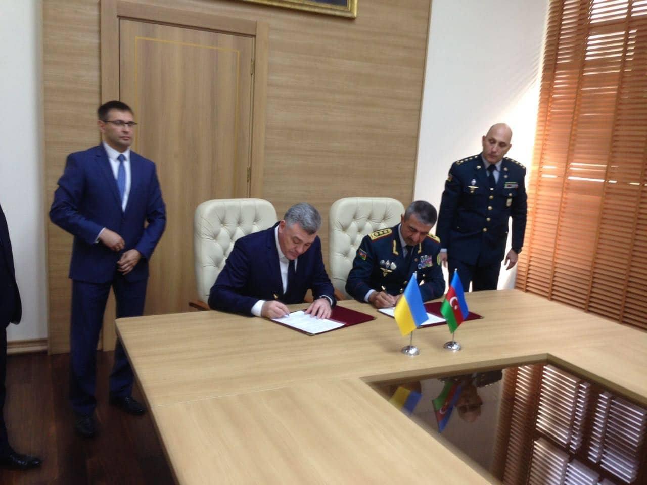 Azərbaycan və Ukraynanın Dövlət Sərhəd xidmətləri arasında əməkdaşlığın inkişaf planı imzalanıb