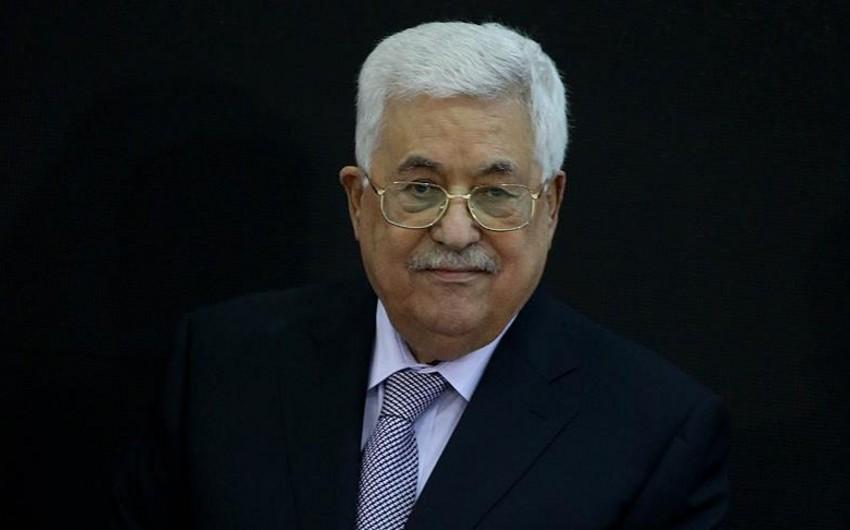 Fələstin prezidenti İsraili bütün sazişlərdən çıxmaqla təhdid edib