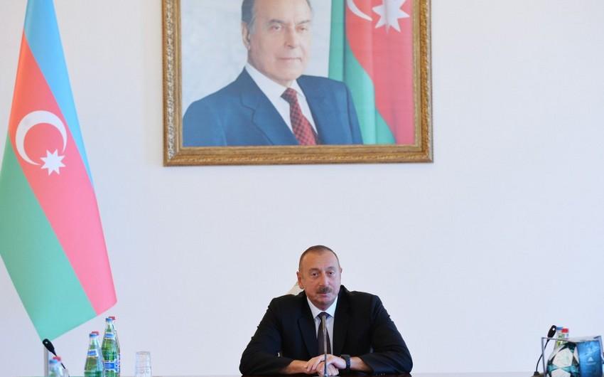 """Azərbaycan Prezidenti: """"Qarabağ"""" klubunun qələbəsi ədalətlidir və tarixə yazılıb"""