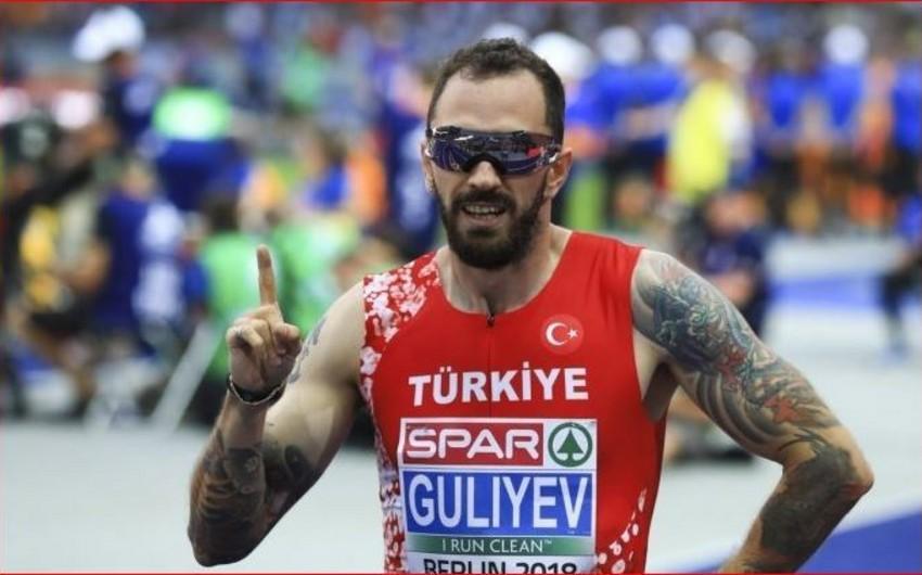 Ramil Quliyev atletika üzrə Avropa çempionu olub