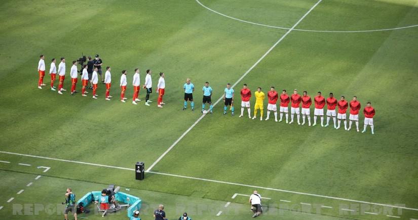 ЕВРО-2020: Прозвучал стартовый свисток на матче Уэльс - Швейцария в Баку