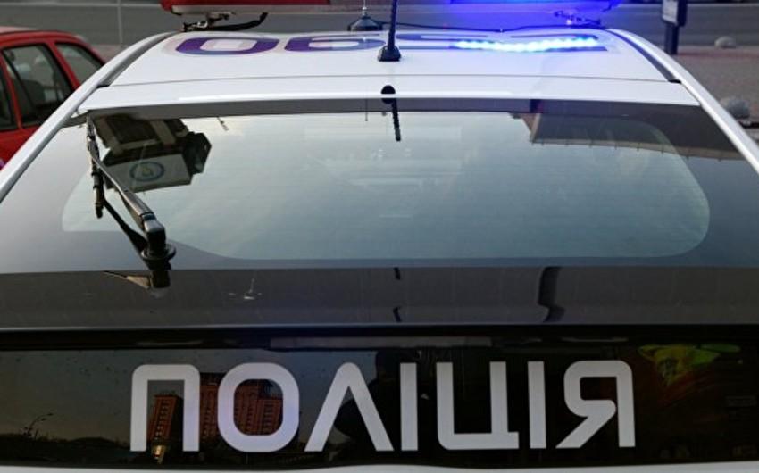 Ukraynada polis əməkdaşlarını güllələyən şəxs saxlanılıb
