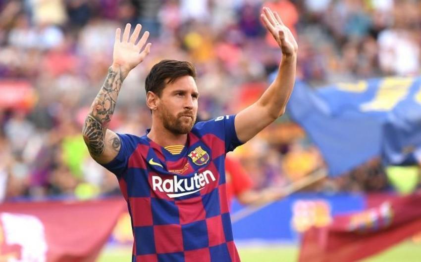 Lionel Messi: Barselonadan getmək barədə düşünməmişəm