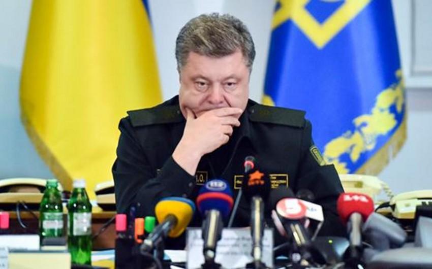 Ukrayna prezidenti Rusiya üzərinə yeni sanksiyaların qoyulmasına çağırıb