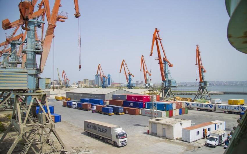 Bakı Beynəlxalq Dəniz Ticarət Limanı ilə yükaşırma 47% artıb