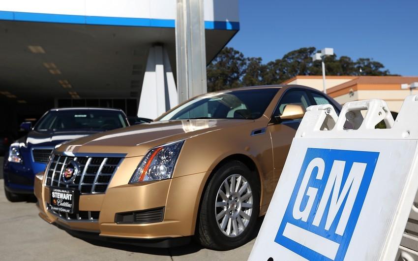 """General Motors"" 6 milyona yaxın avtomobili geri çağırır"