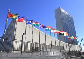 ООН приняла резолюцию на основе призыва Азербайджана