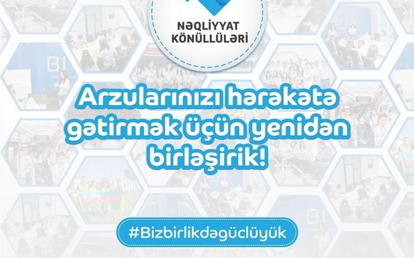 """""""Nəqliyyat Könüllüləri"""" proqramı yekunlaşdırılıb"""