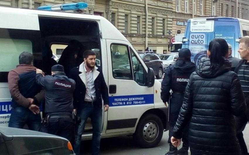 Sankt-Peterburqda altı azərbaycanlı saxlanılıb