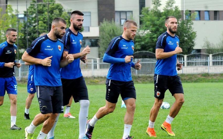 Kosovo təmsilçisi avrokubok matçına müvəqqəti komanda ilə çıxacaq