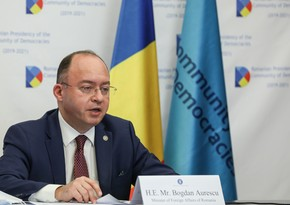 Aurescu: Civil society should be involved in building trust between Azerbaijan and Armenia