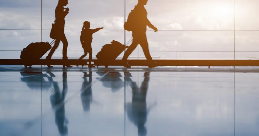 В аэропорту Дубая паспортный контроль можно пройти за несколько секунд
