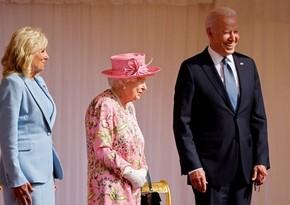 Biden says Queen Elizabeth reminded him of his mother