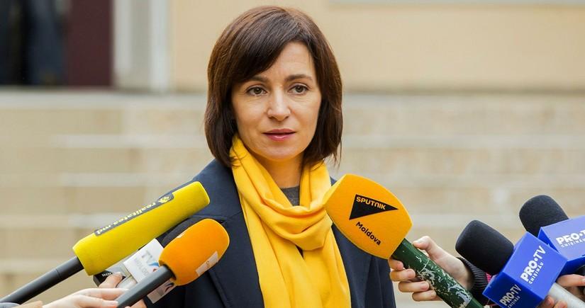 Санду выступила за полный вывод миротворцев России из Приднестровья