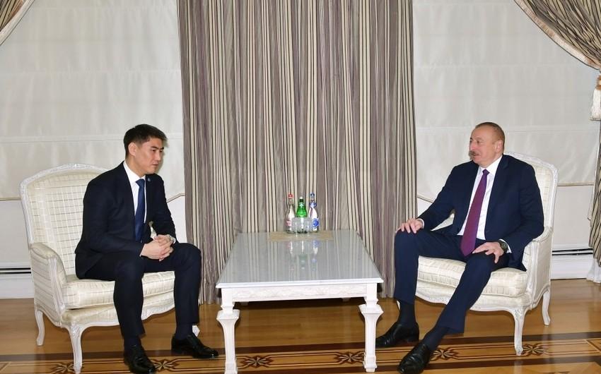 Ильхам Алиев принял министра иностранных дел Кыргызстана - ОБНОВЛЕНО