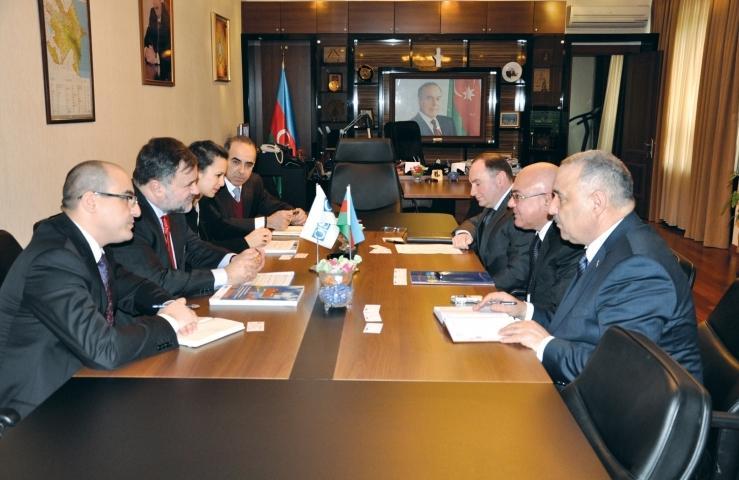 Председатель Государственного таможенного комитета принял делегацию Бакинского офиса ОБСЕ