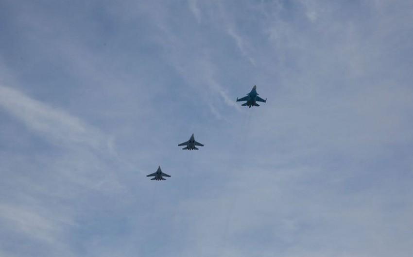 Rusiya qırıcıları Suriyada yerdən azı 5 kilometr hündürlükdə uçacaqlar