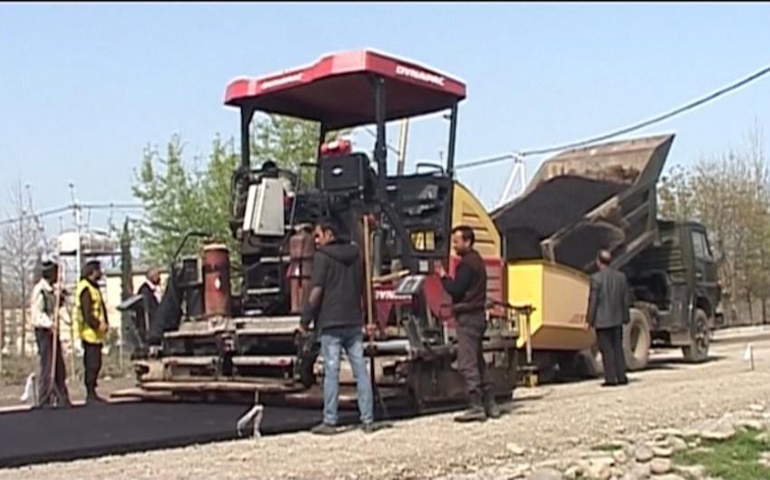 Tərtər-Şıxarx avtomobil yolu təmir edilir